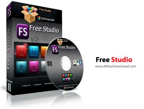 Free Studio نرم افزار تبدیل فایلهای صوتی و تصویری Free Studio 6 2 17 424