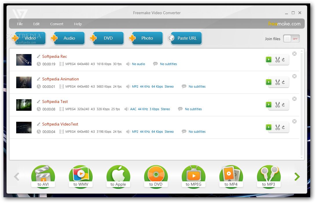 Freemake Video Converter 1 دانلود Freemake Video Converter 4.1.4.4 نرم افزار مبدل ویدیویی
