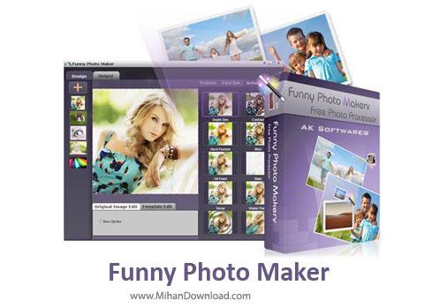 Funny نرم افزار طراحی تصاویر زیبا و فانتزی Funny Photo Maker 2 42 Final
