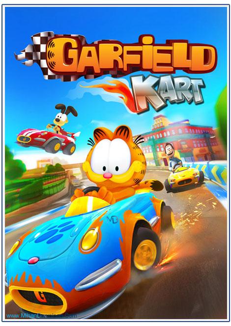Garfield Kart 1 دانلود بازی ریسینگ گارفلید Garfield Kart