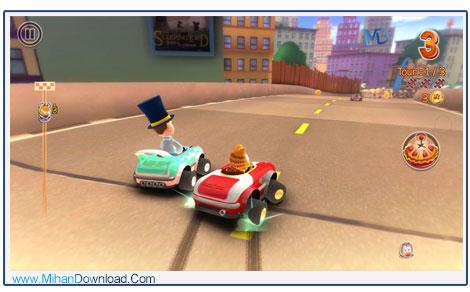 Garfield Kart 2 دانلود بازی ریسینگ گارفلید Garfield Kart