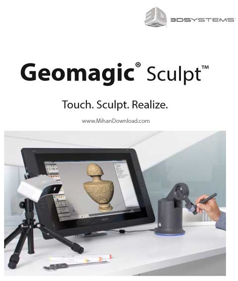 Geomagic Sculpt 2016 Cover دانلود Geomagic Sculpt نرم افزار مدل سازی سه بعدی