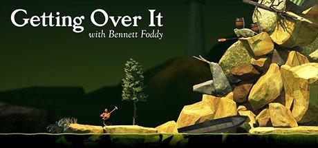 Getting Over It with Bennett Foddy 1 دانلود بازی کوهنورد شجاع برای کامپیوتر