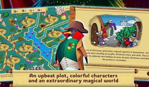 Gnomes Garden Christmas Story 1 دانلود بازی مدیریتی برای کامپیوتر