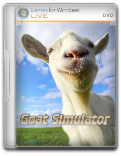 Goat Simulator Update v1.0 1 دانلود بازی شبیه ساز بز Goat Simulator