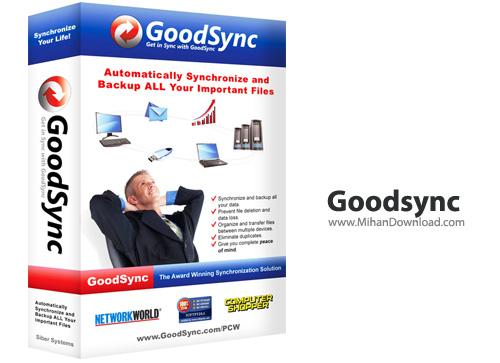Goodsync دانلود GoodSync Enterprise 9.9.0.9 نرم افزار پشتیبان گیری و هماهنگ سازی فایل ها