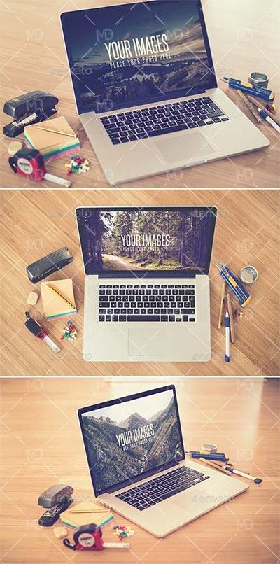 GraphicRiver Desk II دانلود ماک آپ های حرفه ای گرافیک ریور