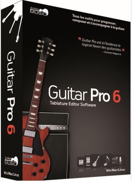 Guitar دانلود نرم افزار آهنگسازی با گیتار Guitar Pro 6.1.9