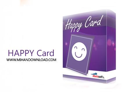 HAPPY card  دانلود نرم افزار طراحی کارت دعوت و تبریک Abelssoft HappyCard 2018 v2.2.80