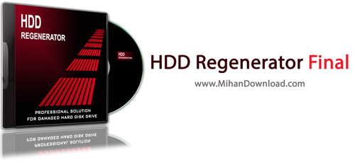 HDD Regenerator دانلود نرم افزار رفع مشکل بد سکتور هارد دیسک HDD Regenerator 11 0011 Final
