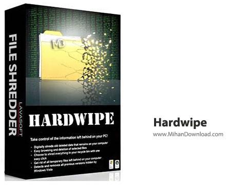 Hardwipe نرم افزار حذف فایل بدون قابلیت بازیابی مجدد Hardwipe 4 0 2 Final + Portable