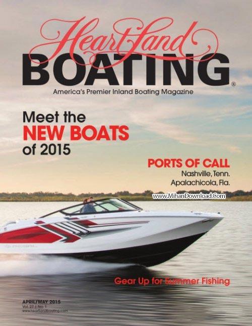 Heartland Boating AprilMay 2015 دانلود مجله ی Heartland Boating April And May 2015