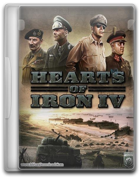 Hearts of Iron IV 1 دانلود بازی Hearts of Iron IV