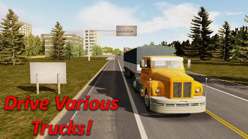Heavy Truck 1 دانلود بازی شبیه ساز کامیون سنگین برای آندروید