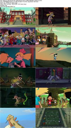 Hey Arnold 2 دانلود انیمیشن Hey Arnold!: The Jungle Movie 2017