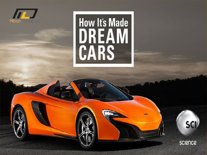 how its made dream cars 2016. Black Bedroom Furniture Sets. Home Design Ideas