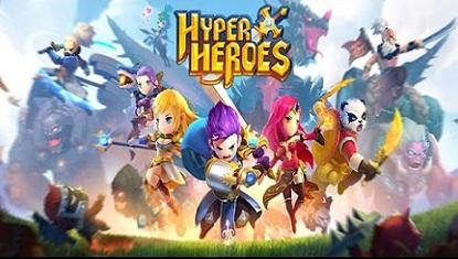 Hyper Heroes logo دانلود بازی ابر قهرمانان Hyper Heroes v1.0.6.47929 برای آندروید + دیتا