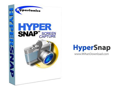 Hyper1 نرم افزارعکس برداری ازصفحه نمایش HyperSnap 7 28 01