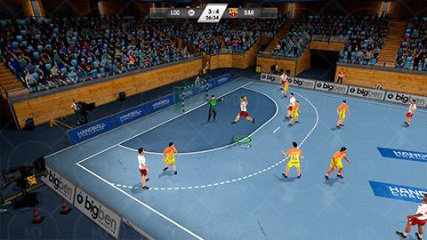 IHF Handball Challenge 14 2 دانلود بازی چالش های هندبال IHF Handball Challenge 14