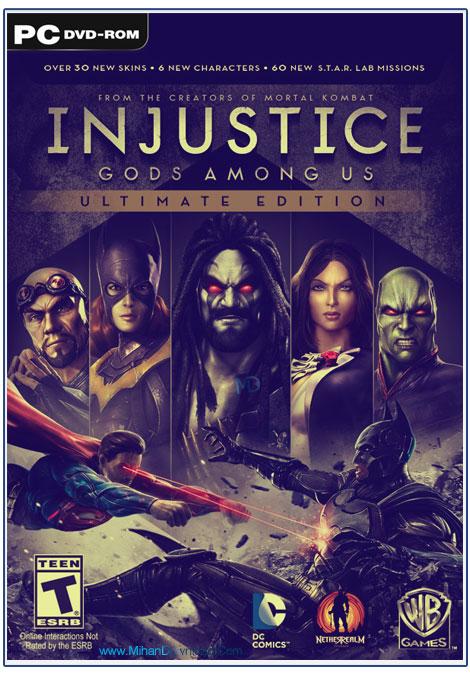 INJUSTICE GODS AMONG US 1 دانلود بازی اجرای عدالت Injustice Gods Among Us برای کامپیوتر