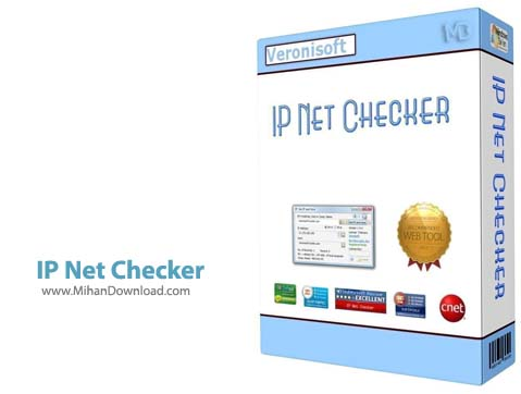 IP Net نرم افزار نظارت بر شبکه Veronisoft IP Net Checker 1 5 6 30