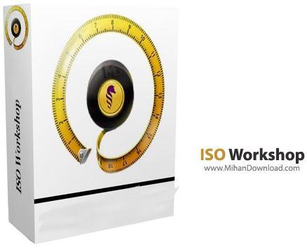 ISO Workshop نرم افزار ایمیج گیری از سی دی و دی وی دی ISO Workshop 5 2