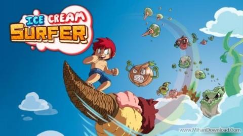 Ice Cream Surfer cover دانلود بازی Ice Cream Surfer