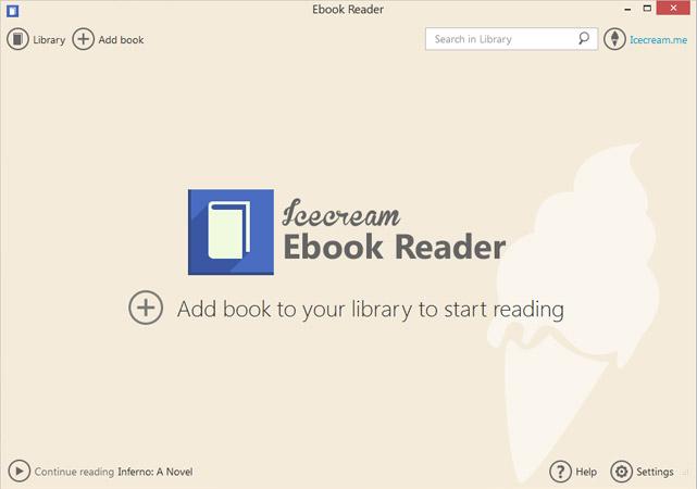 IceCream Ebook Reader دانلود IceCream Ebook Reader 1.69 portable نرم افزار مشاهده کتاب های الکترونیکی