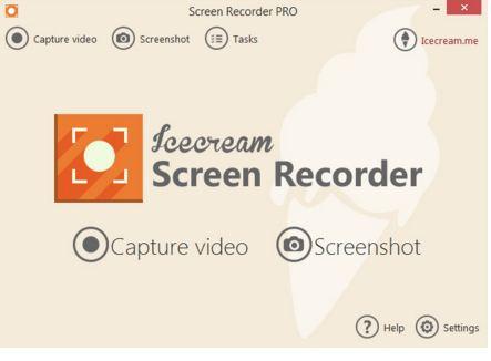 Icecream Screen Recorder Pro دانلود نرم افزار فیلم برداری از دسکتاپ Icecream Screen Recorder Pro 4.30