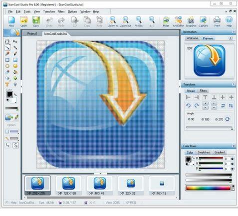 IconCool  دانلود IconCool Studio Pro 8.20 Build 140222 نرم افزار طراحی آیکون
