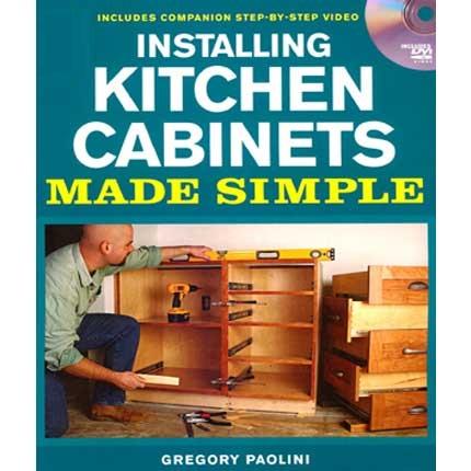 Installing Kitchen Cabinets made simple دانلود فیلم آموزش ساخت کابینت