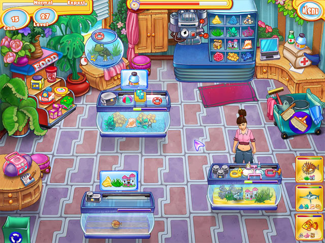 Jennys Fish Shop screen دانلود بازی Jenny's Fish Shop برای کامپیوتر