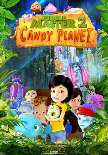 Jungle Master 2 Candy Planet 1 دانلود انیمیشن Jungle Master 2: Candy Planet