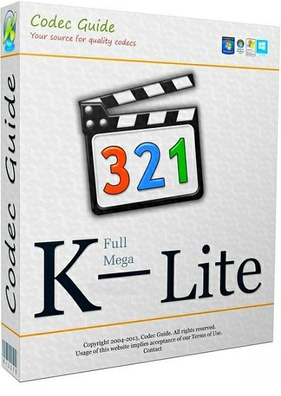 دانلود نرم افزار پخش تمام فرمت های صوتی و تصویری K Lite Mega Codec Pack 12.3.5
