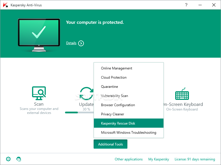 Kaspersky Antivirus Personal 31 دانلود آنتی ویروس کسپرسکی Kaspersky Anti Virus 17.0.0.611.0.191.0 Final