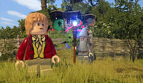 LEGO The Hobbit 2 دانلود بازی لگو یک هابیت LEGO The Hobbit