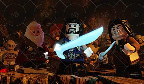 LEGO The Hobbit 3 دانلود بازی لگو یک هابیت LEGO The Hobbit
