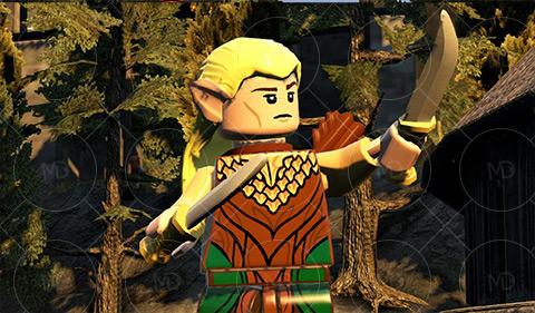 LEGO The Hobbit 4 دانلود بازی لگو یک هابیت LEGO The Hobbit