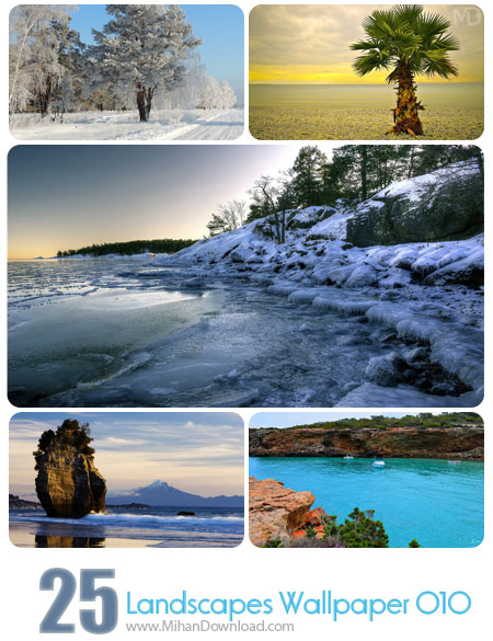 Landscapes Wallpaper Set 010 دانلود مجموعه عکس مناظر Landscapes Wallpapers Set 010