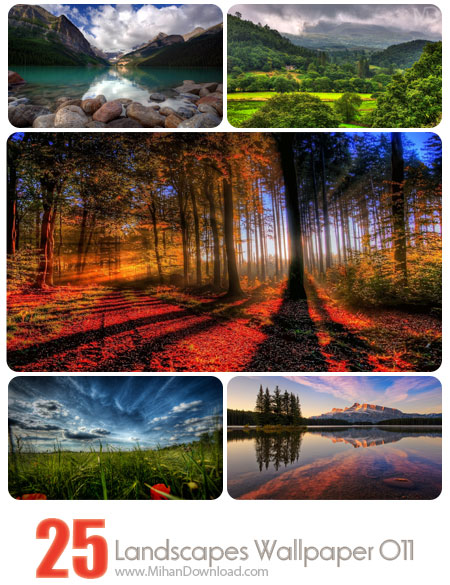 Landscapes Wallpaper Set 011 دانلود مجموعه عکس مناظر Landscapes Wallpapers Set 011