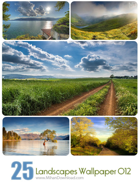 Landscapes Wallpaper Set 012 دانلود مجموعه عکس مناظر Landscapes Wallpapers Set 012