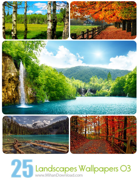 Landscapes Wallpapers 03 دانلود Landscapes Wallpapers Set 03 مجموعه سوم از تصاوير زيبا از مناظر