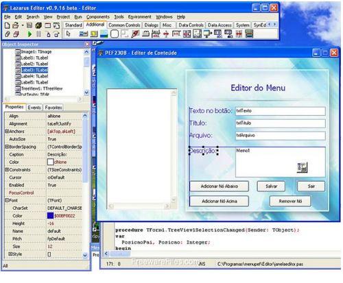 Lazarus دانلود نرم افزار برنامه نویسی لازاروس Lazarus 1.6