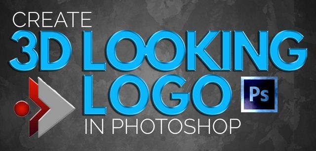 Learn to Create 3D Looking Professional Logo in Photoshop دانلود فیلم آموزش ساخت لوگو سه بعدی در فتوشاپ
