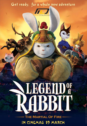 Legend of a Rabbit دانلود دوبله فارسی انیمیشن افسانه یک خرگوش: حماسه آتش 2015 Legend of a Rabbit: The Martial of Fire
