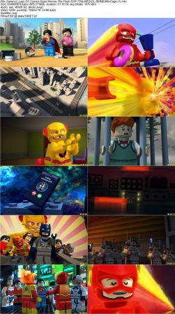 Lego DC Comics Super Heroes The Flash 2018 2 دانلود انیمیشن Lego DC Super Heroes: The Flash 2018