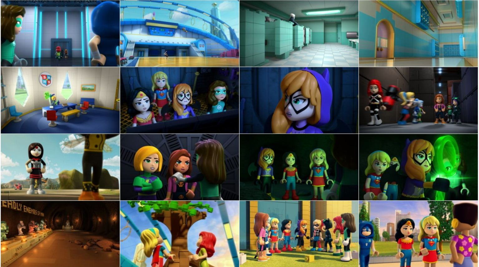 Lego DC Super Hero Girls Super Villain High دانلود انیمیشن Super Hero Girls: Super Villain High 2018