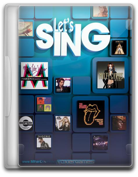 Lets Sing 1 دانلود بازی خوانندگی Lets Sing