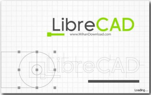 LibreCAD نرم افزار نقشه کشی LibreCAD 2 0 3 Final