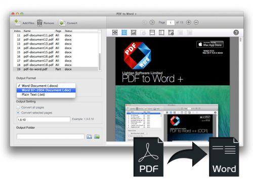 Lighten دانلود نرم افزار تبدیل پی دی اف به ورد Lighten PDF to Word Converter 5.0.0